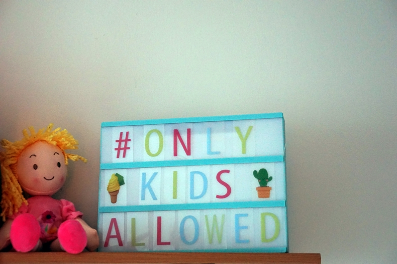 only kids allowed