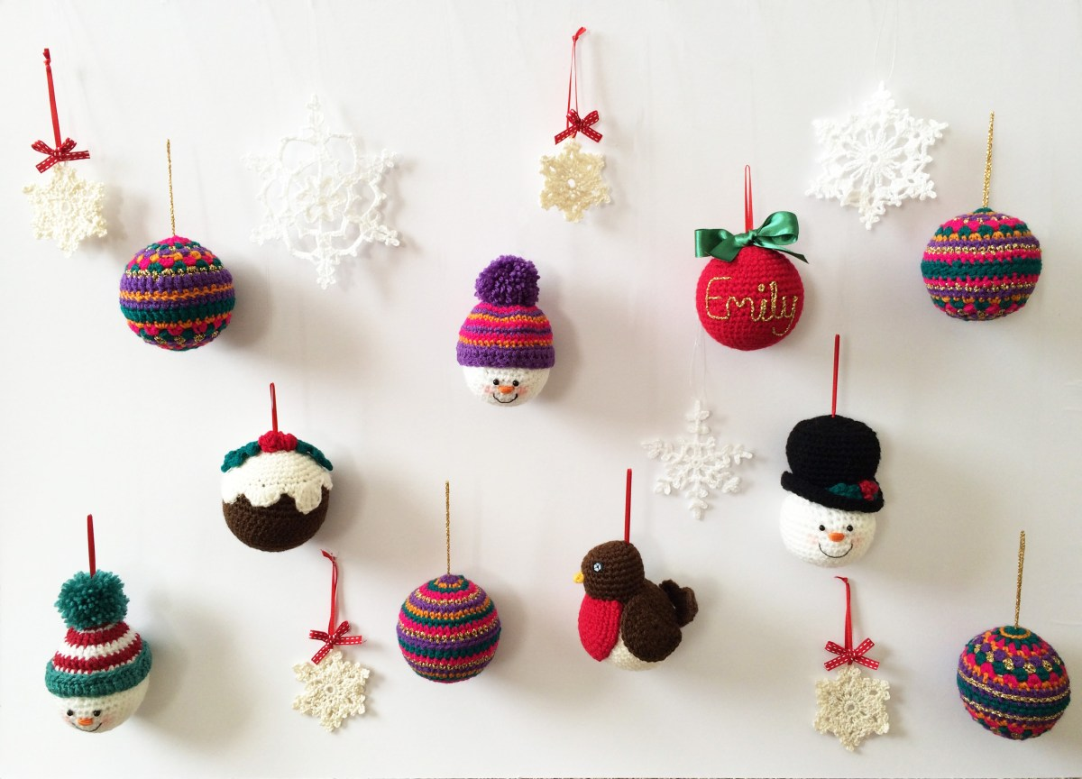 Handmade Crochet Christmas Decorations