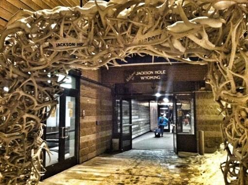 Elk Antler Arch at JAC