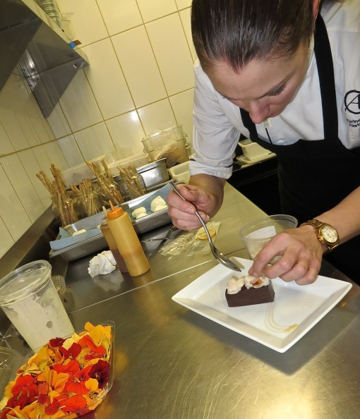 Pastry Chef Karine Moulin