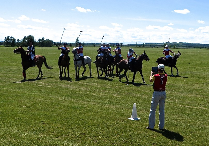 Calgary Polo Club Canada Day
