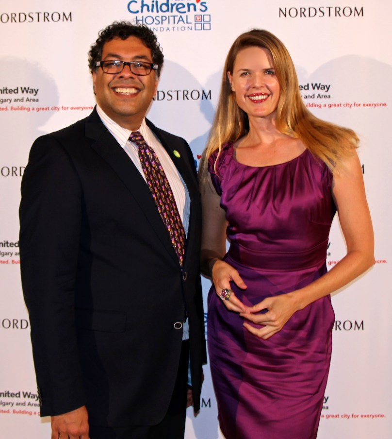 Mayor Naheed Nenshi at Nordstrom