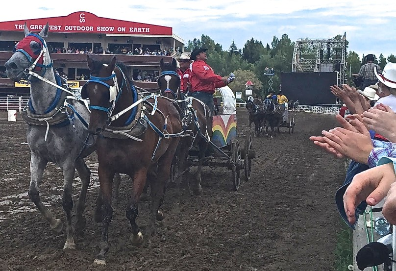 Calgary Stampede 2015 Chuckwagon Races