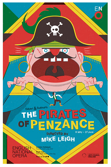 Toby-Leigh-Folio-Art-Pirates-Penzance-Opera-Gilbert-Sullivan-L