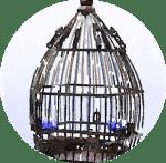 鳥かご(丸)
