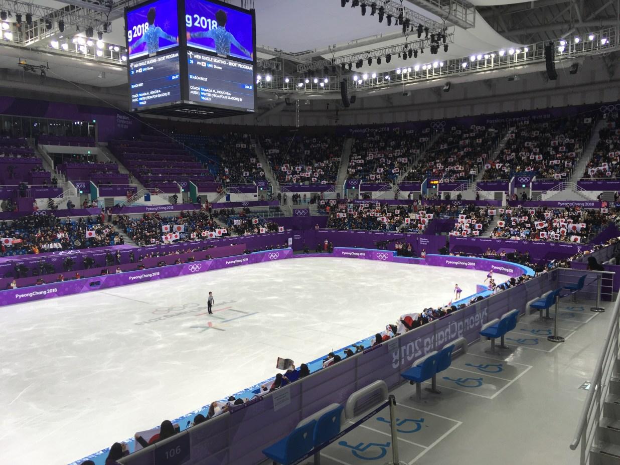 ピョンチャンオリンピック2018フィギュアスケート