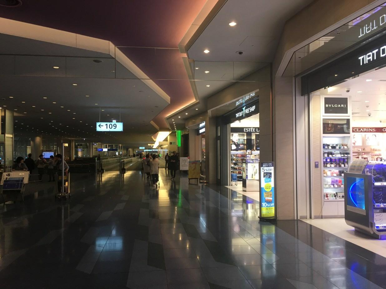 羽田空港でアイコス