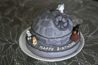 Lego Star Wars Death Star Cake - bluebird chic