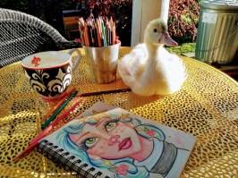 ArtDucky doodles