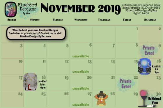 calendarNOVEMBER