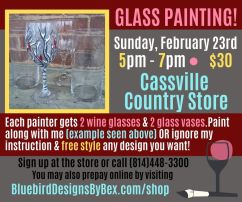 GLASS PAINTING! (2)