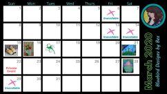 Calendar March2020