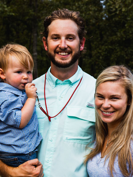 Grant Chappell and family