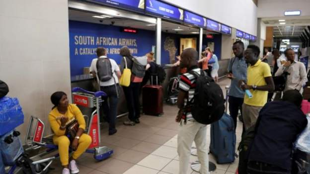COVID19 SouthAfrica OPENS BORDER TO OTHER AFRICAN COUNTRIES.