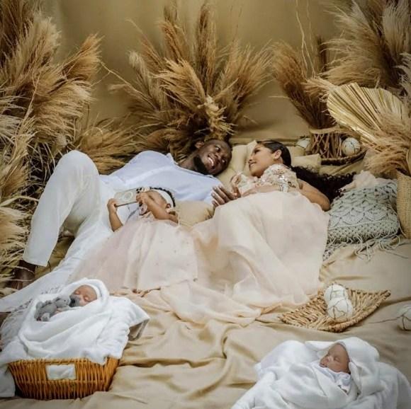 "Usain Bolt and Kasi Bennett Welcomes Set of Twins, Names Them ""Saint leo Bolt and Thunder bolt""."