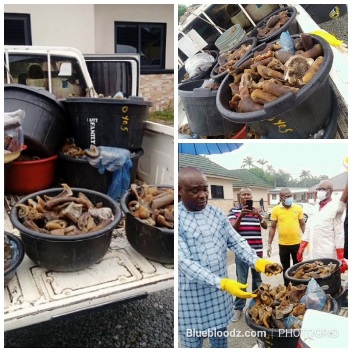 New Benin Market : Four Women Arrested For Selling Donkey Meat To Ignorant Buyers. See Photos