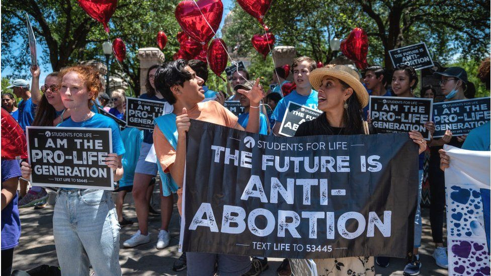 Texas : US State Puts Up Law Banning Abortion After 6 weeks Into Pregnancy.