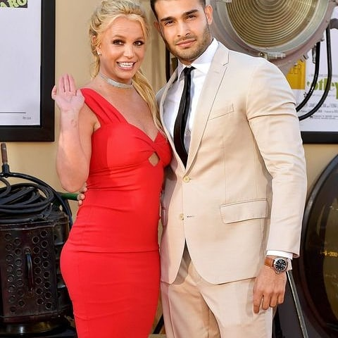 Britany Spears and Sam Asghari Officially Engaged. [ Video ]