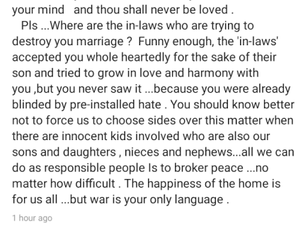 Annie Idibia: Brother In-law Goes on Social Media Rant.
