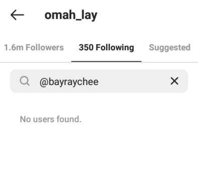 Omah Lay Unfollows Girlfriend On Instagram .