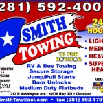 Smith towing ad