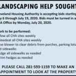 Cleveland Housing Authority ad