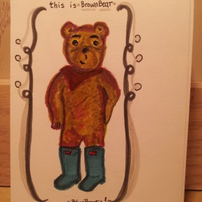 Introducing… another BB besides BlueBoots. Hello, BrownBear!