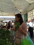 Copley Square farmer's market