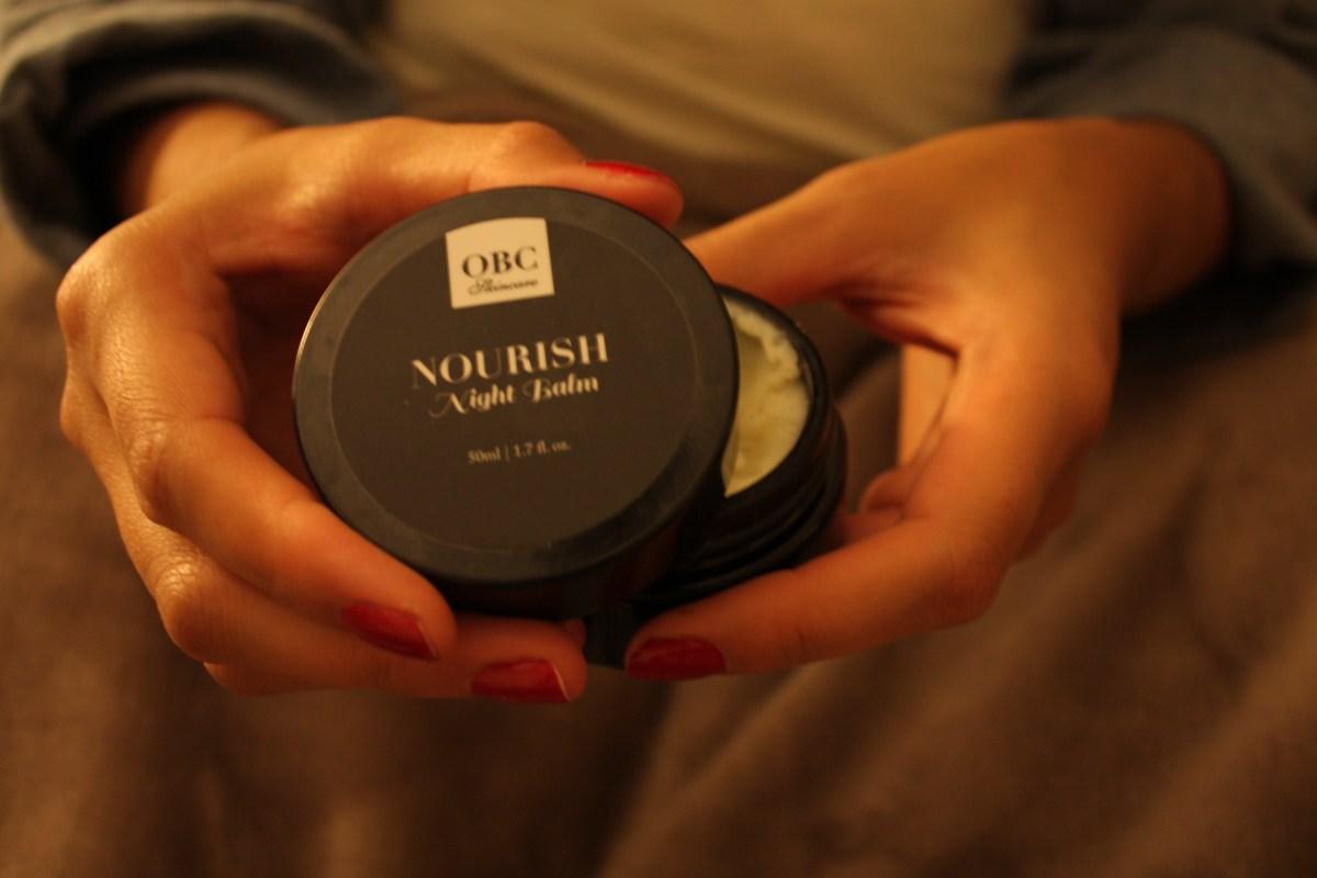 Nourish Night Balm - Organic Bath Co