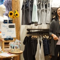 Pack LIGHT, Style RIGHT - recap of a BlueBootsGo travel-style-wellness event with Athleta & Follain + a surprise at the end!