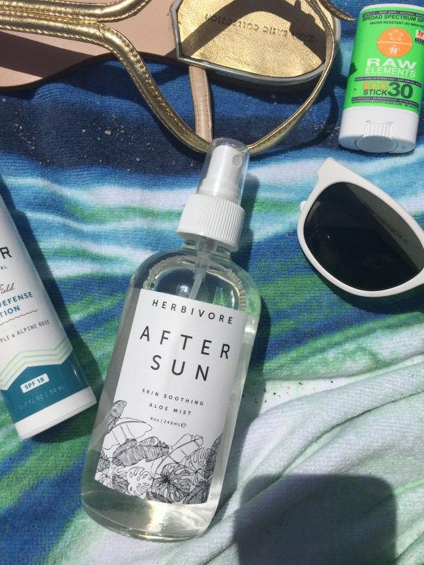 Herbivore Botanicals After Sun Skin Soothing Aloe Mist at Follain