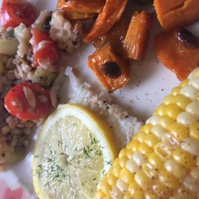 A Complete Cool + Healthy Lunch Menu for A Summer Cookout