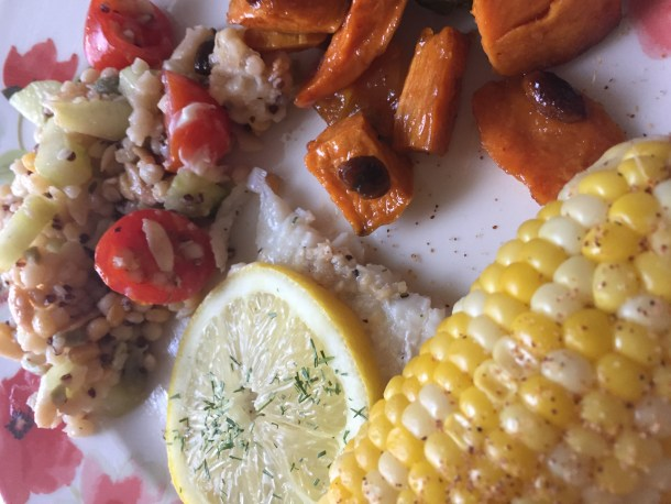 A Complete Cool Healthy Lunch Menu For A Summer Cookout Where