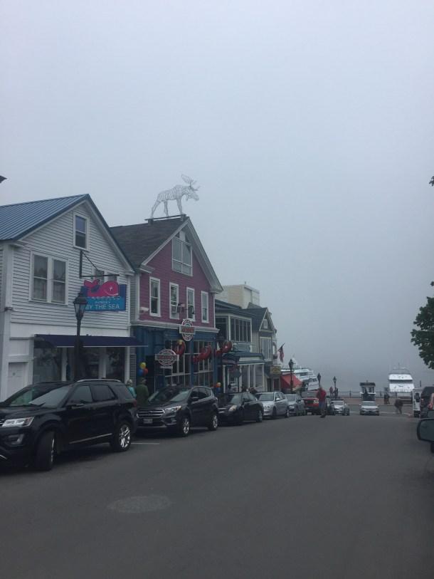 Shops in Bar Harbor, Maine