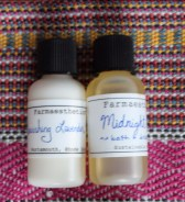 farmaesthetics nourishing lavender milk and midnight honey oil