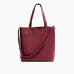 Madewell medium transport tote in Dark Cabernet