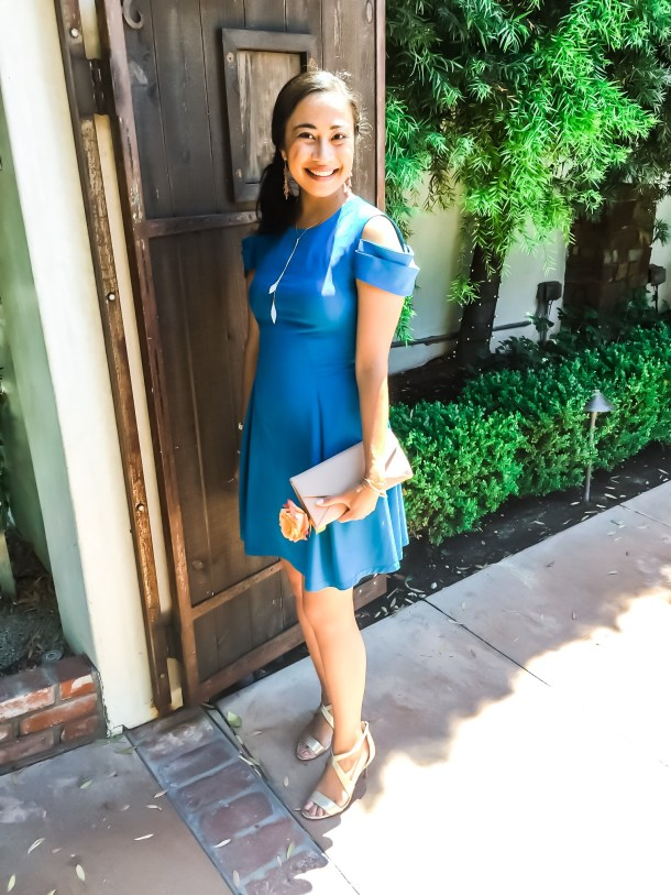 Style Blogger BlueBootsGo with Cuyana, Zac Posen, Vince Camuto
