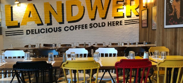 Cafe Landwer - Where the BlueBoots Go