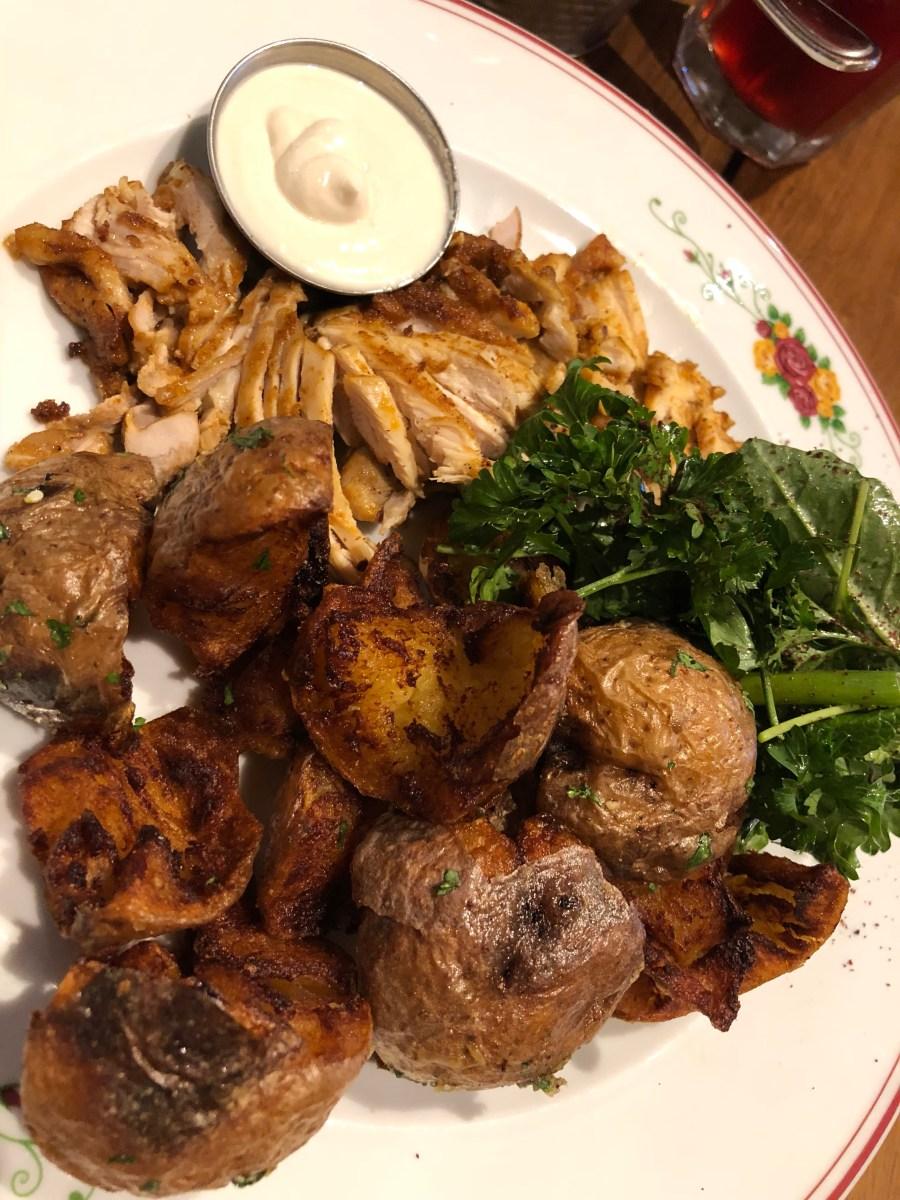 Chicken Shawarma - Cafe Landwer - Where the BlueBoots Go
