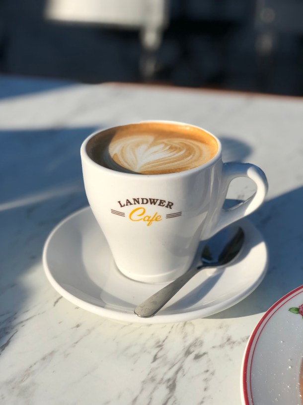 Cafe Landwer - Cappuccino - Where the BlueBoots Go