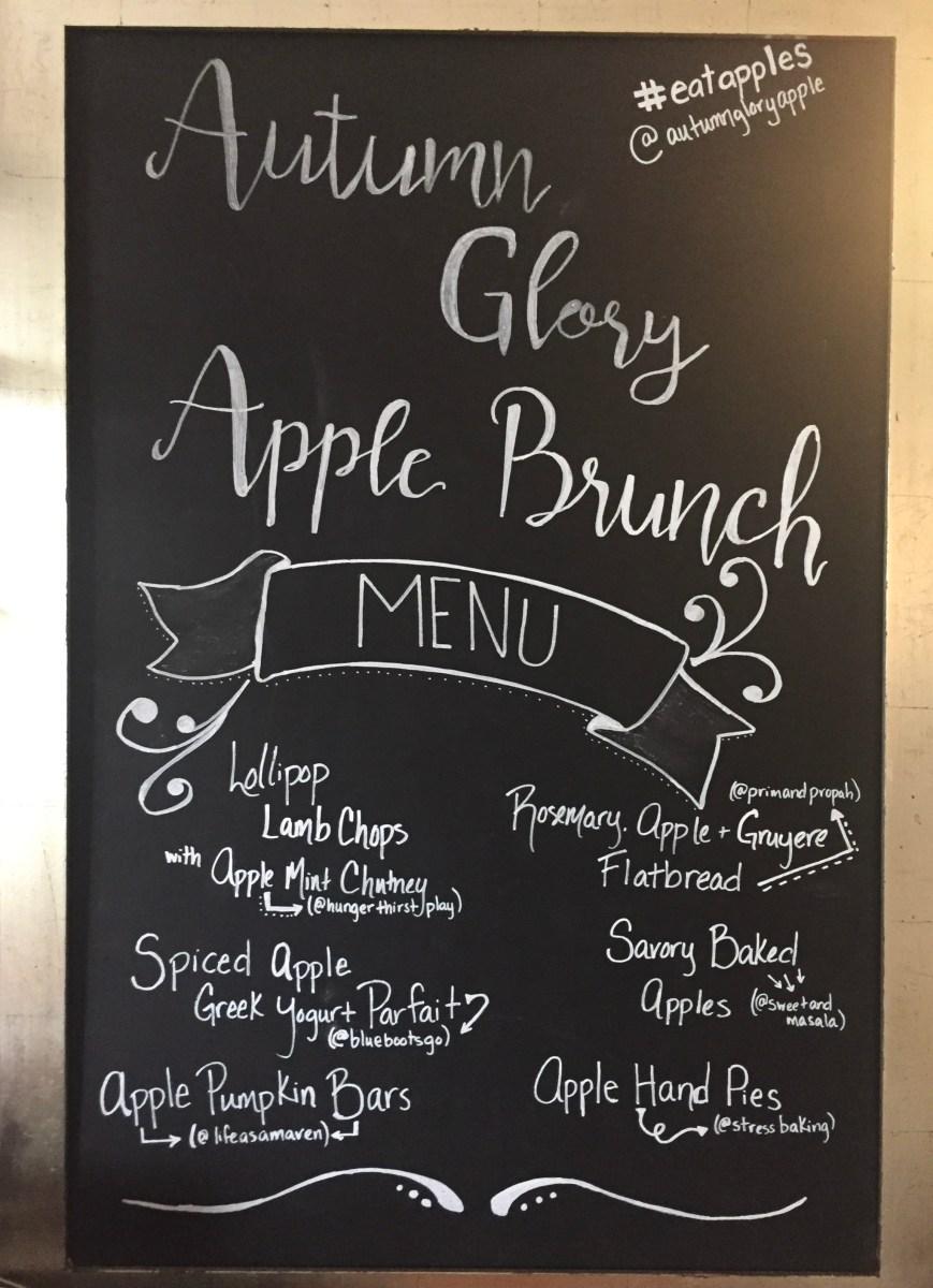 Autumn Glory Apple Brunch - Where the BlueBoots Go