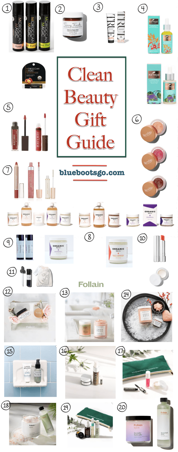Clean Beauty Holiday Gift Guide | Where the BlueBoots Go