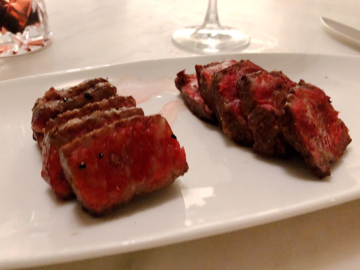 Australian Wagyu Steak - Del Frisco's Double Eagle Steakhouse - Back Bay - Boston - Where the BlueBoots Go - BlueBootsGo.com