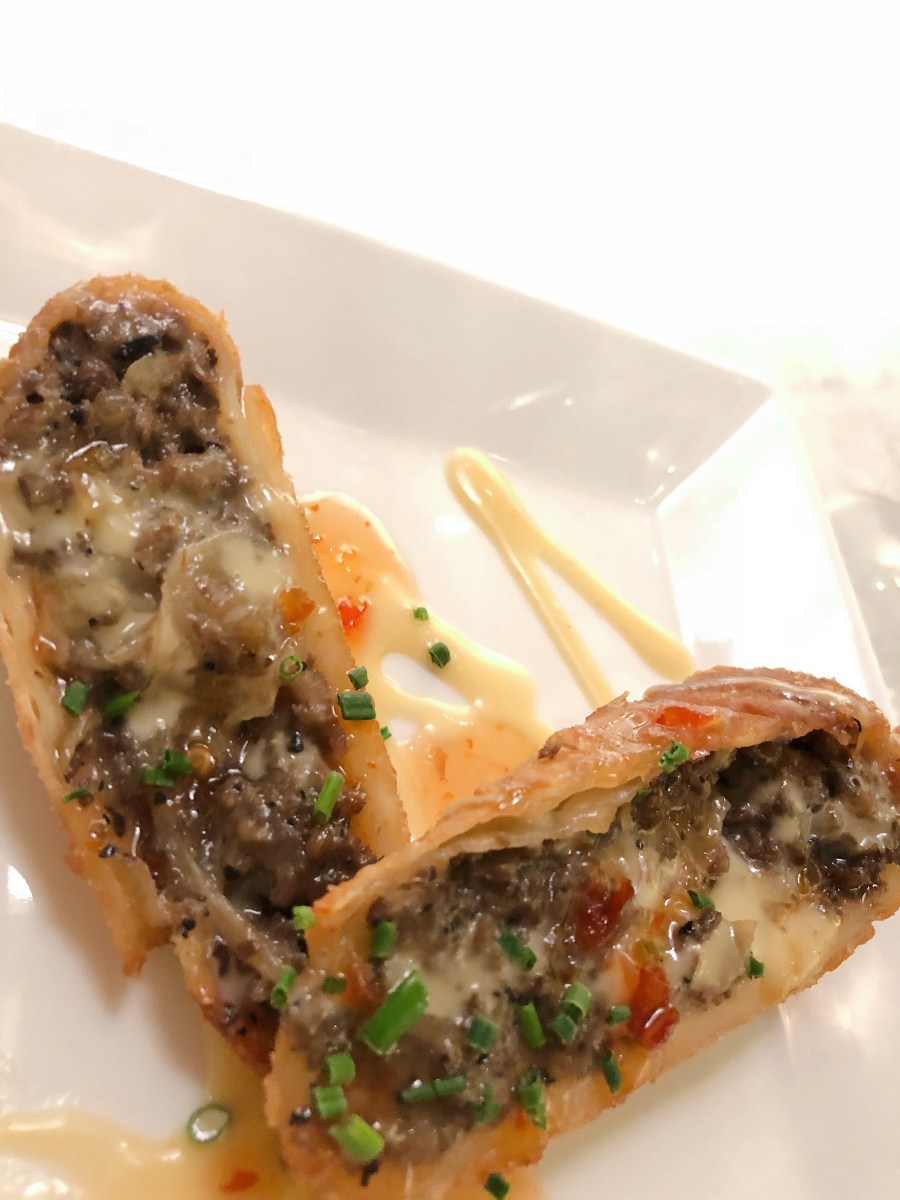 Cheesesteak Eggrolls - Del Friscos Double Eagle Steakhouse - Back Bay - Boston - Where the BlueBoots Go - bluebootsgo.com