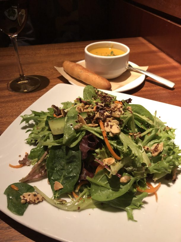 Mixed Greens Salad - Harvest Menu - Seasons 52 | Where the BlueBoots Go
