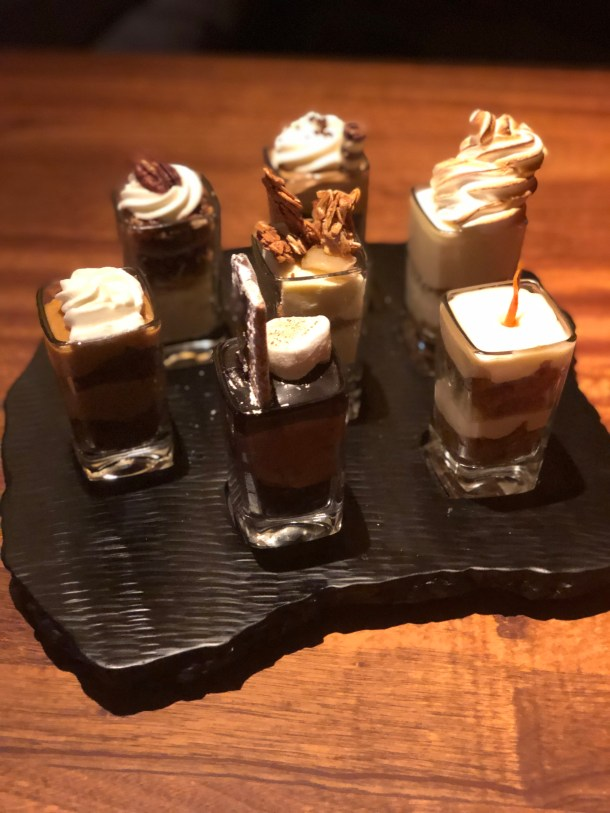 Desserts at Seasons 52 | Where the BlueBoots Go