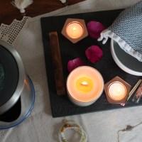 florapothecarie rose himalayan bathing salts + DIY Facial Steam // on my Wellness Tray