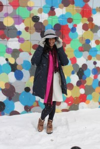 winter blogger style