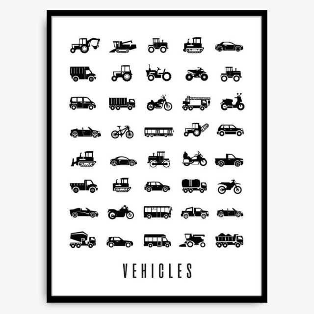 Poster - Vehicles Image