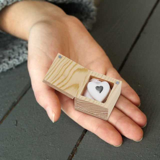 Hjärta i porslin - Love to go Image